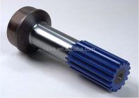 OEM CNC Machining Steel Spline Stub,Tube Shaft