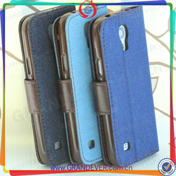 2015 LF Recommendation! Pretty Goods Protective Case Leather Flip Cover Case for Samsung S4 Mini I9190 Replacement
