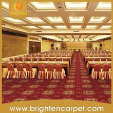Elegant decoration hotel lobby wedding carpet