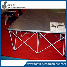 TFR TUV certified aluminum stage frame/portable aluminum stage for event