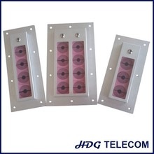 Cable inlet, cabinet seals for quick installation