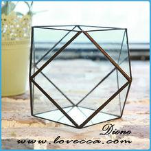 2015 Products Decorative Indoor Geometric Glass Terrarium Crafts - Best Selling Glass Plant Terrarium For Wedding Decoration