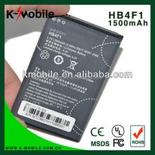 Genuine FOR Huawei U8220 U8230 U9120 E5830 M860 Ascend HB4F1 Cellphone Battery HB4F1 1500mAh
