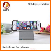 2015 Fashion Design Ultra thinPU leather Case For iPhone 6 ,floded to stand