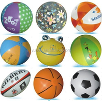 funny pvc balls inflatable beach ball toys for kids