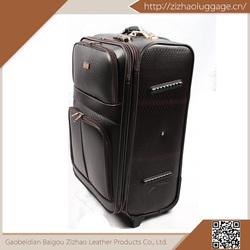 High quality 2015 top sale pu luggage,kids cartoon luggage