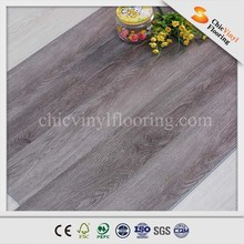 High Quality 5.0mm Water Resistent PVC Click Wood Surface Vinyl Flooring