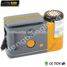 air pump with tire sealant