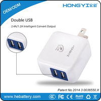 Dual Usb Wall Charger Adaptor For iPhone 6S for USA High-end Market