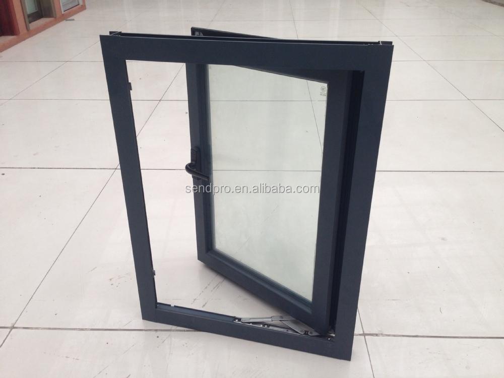 Fen tre battants en aluminium double vitrage fen tre de for Installation fenetre aluminium