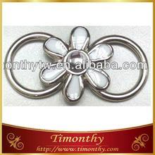 Decorative metal shoe ornament fashion shoe buckle