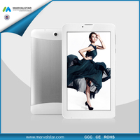 7 inch Tablet PC 3G Android 4.0 MTK8312 Dual Core 1GB+8GB 1024*600pixel Panel 3G GPS Bluetooth Mini MID Plastic Case