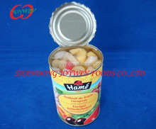 Chinese canned fruit cocktail in light syrup, brands canned fruit factory