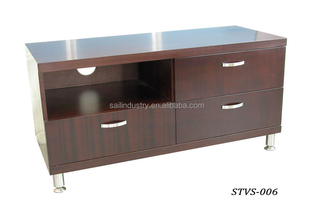Wooden tv table interiors design for Table tv design