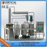 VTS-PP Mobile Oil Purification Plant, Black Motor Oil Recycle Machine
