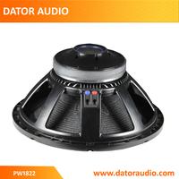 High quality RCF 18 inch professional woofer speaker, loose speaker