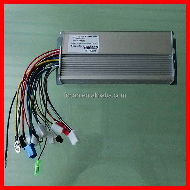 High Quality 24v 36v 48v Brushless Motor Controller With 250w 350w 450w 500w 800w 1000w For