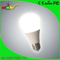 7w, 600lm 360 degree Emitting Angle glass LED Bulb light
