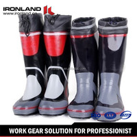 Black Rubber Boots Wholesale/Mens New Style Long Rubber Boots