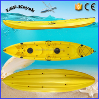 3 Person Sit On Top Fishing Kayak for Family