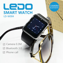 1.54 inch 0.3M Camera Bluetooth Smart Watch Phone for Android