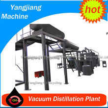 13-16 H/D Used Oil Recycling Plant for Base Oil from Used Engine Oil