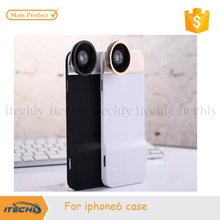 ITECHLY Novelty Fisheye Lens Universal Wide Angle Micro Lens Phone Camera Lenses Cell Phone Case