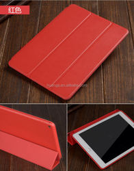 Cheap goods from china Magnetic Smart Leather Case stylish tablet cover for ipad air 2 leather case wholesale alibaba