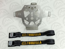 4.7 Liter Fuel Can Mounting bracket for motorcycle aluminium boxes