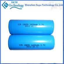 1x18650 lithium rechargeable battery for shenzhen suyu