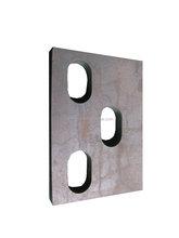 Punching part, sheet metal fabrication with stamping machine