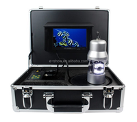 "7"" LCD Underwater Video Camera System Fish Finder GSY8200D Fishing Breeding Monitoring 700TVL 14*LED 50M SD Card"