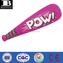 China custom made inflatable bats pvc baseball bat toys cheap inflatables