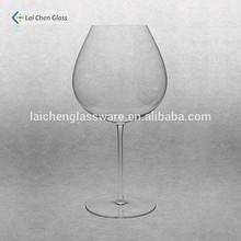 Borgonha tinto taças/chumbo vinho vidro/borgonha taças