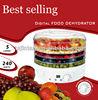 GS approval digital food dehydrator 5 layer