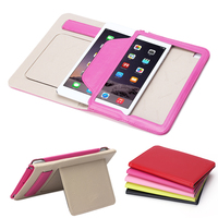 2015 new design real leather handheld cover for ipad mini 4 case