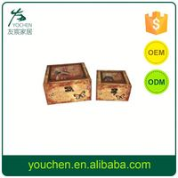 Advantage Price Customizable Small Wooden Craft Boxes