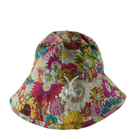 Bucket Hats Promotional Flower Pattern Custom Printed Bucket Hat