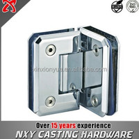 Bevel type 90 degree double bathroom door hinge