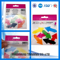 Colorful Printed Self Adhesive Seal OPP Plastic Bag With Header