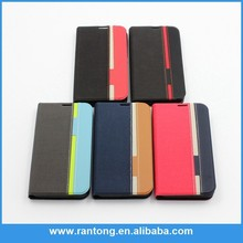 Hot promotion book design wallet leather wallet Cell Phone Case for mobile phone