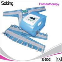 Pressure therapy/lymphatic drainage machine lymphatic body massage machines