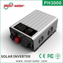 Grid tie solar inverter / Pure Sine Wave 3000w solar inverter price