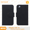 BRG Hot Selling Leather Stand Cover for iphone 4
