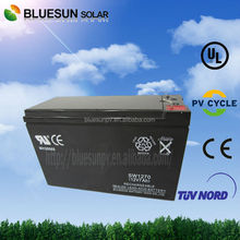 ISO CE ROHS UL Certificate 12V 7AH motorcycle agm battery