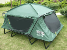 made in China military tent folding camping bed tent