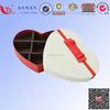 custom heart shape cardboard gift box/gift packing chocolate box manufacturers producting