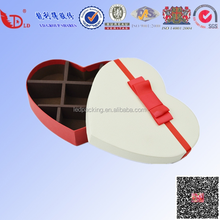 custom heart shape cardboard gift box/gift packing chocolate box manufacturers producting