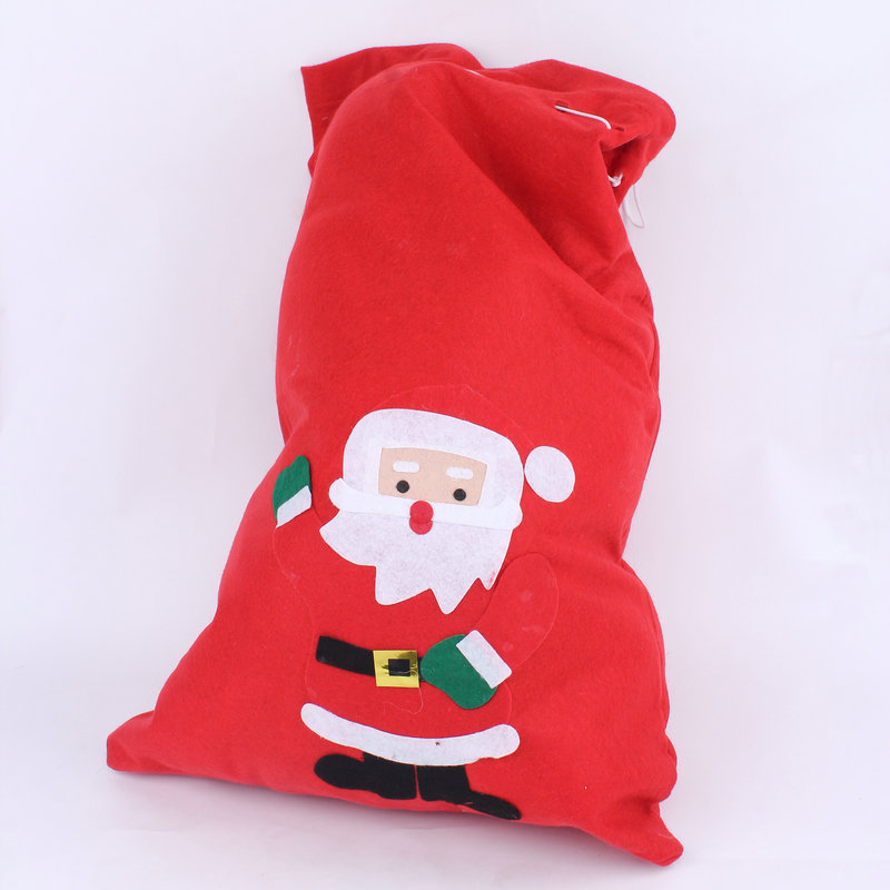 Three sizes santa claus christmas funny gift bags