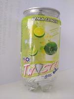 340ml Lemon flavored sparkling water